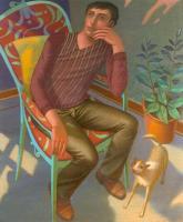 """""""Ricordi"""" - 2007 (Olio su tela cm.100x120)"""