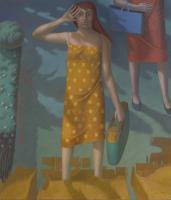 Demetra cm. 120 x 140 olio su tela