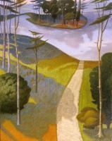 """""""La via di purificazione"""" - 2006 (Olio su tela cm.100x80)"""