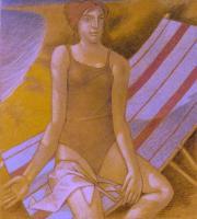"""""""Momenti estivi"""" - 2005 (Tecnica mista cm.100x90)"""